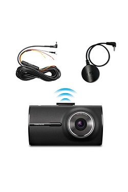 Thinkware X350 Wi-Fi Dash Cam with Live Stream, GPS module + Hardwiring Cable