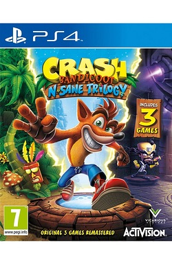 PS4: Crash Bandicoot N Sane Trilogy