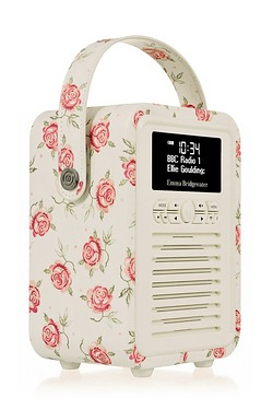 VQ Retro Mini Emma Bridgewater Digital Radio