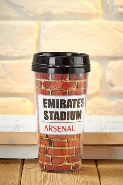 Football Travel Mug - Arsenal