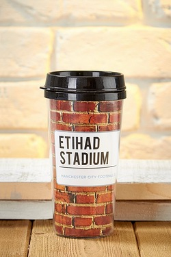 Football Travel Mug - Man City