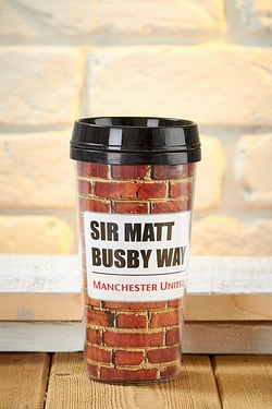 Football Travel Mug - Man United