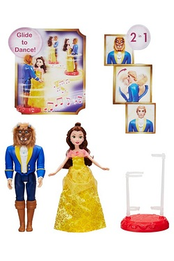 Disney Princess Belle and Beast Enchanted Ballroom Reveal