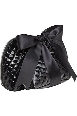 2 Pack Of Black Cosmetic Bags