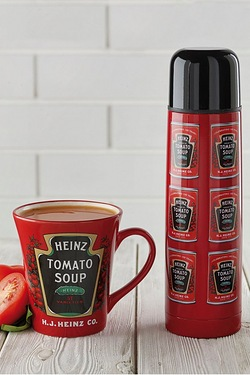 Heinz Tomato Soup Mug And Flask Set