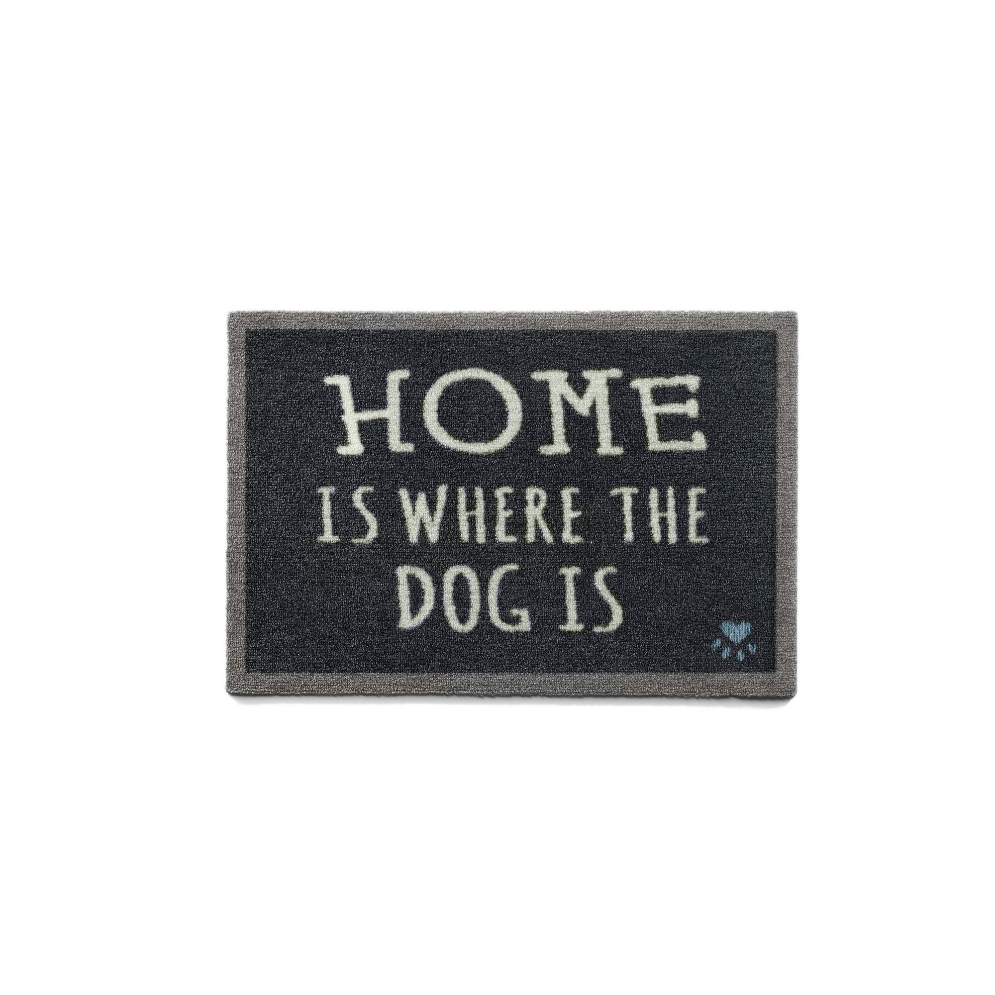 Image of Home Is Where The Dog Is Door Mat - Howler and Scratch