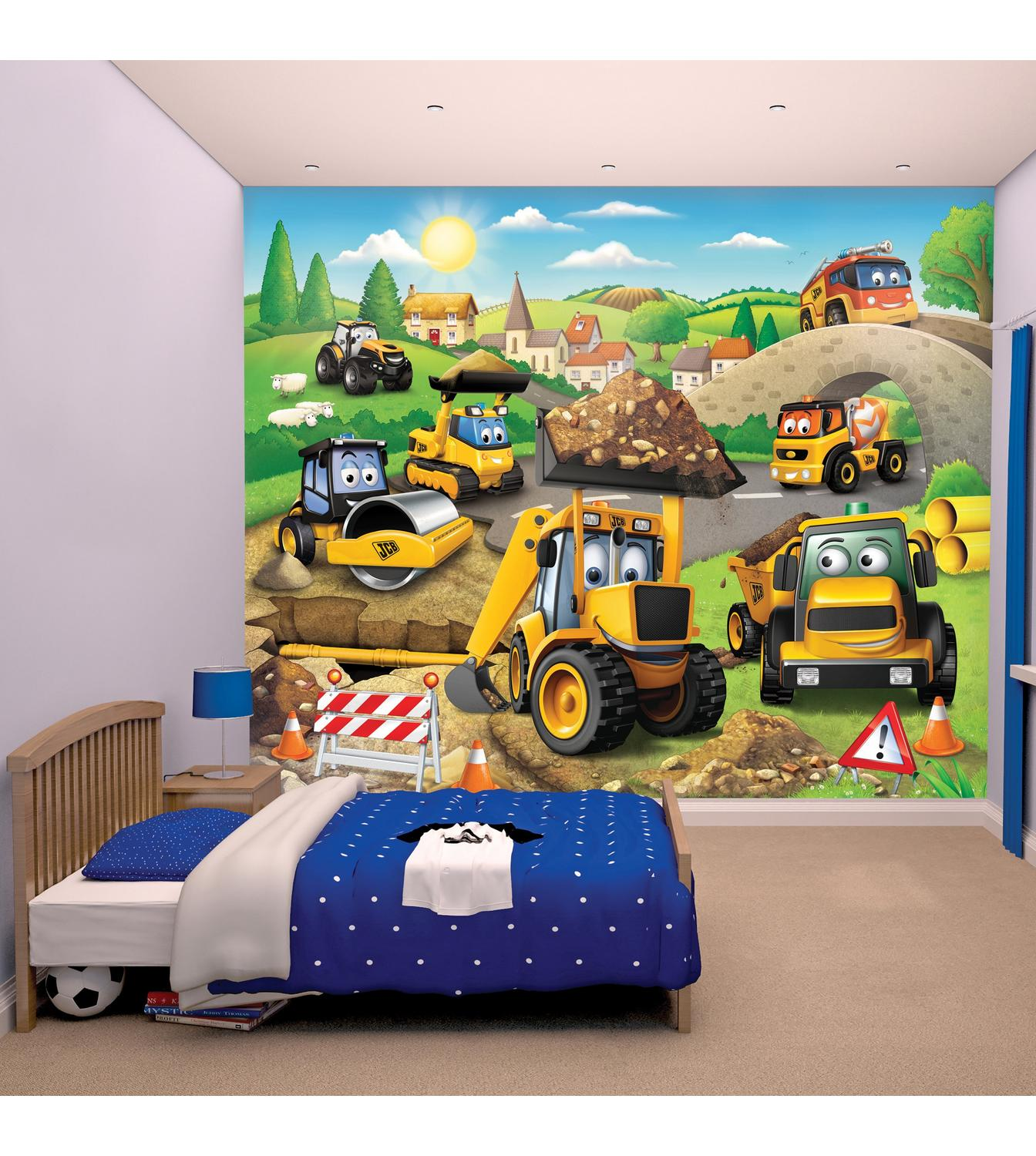 Image For My First Jcb Wallpaper Mural From Studio