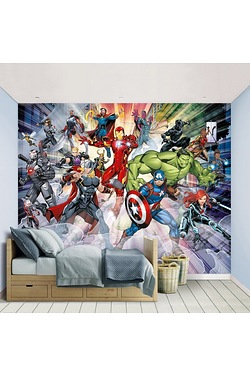Avengers Assemble Wallpaper Mural