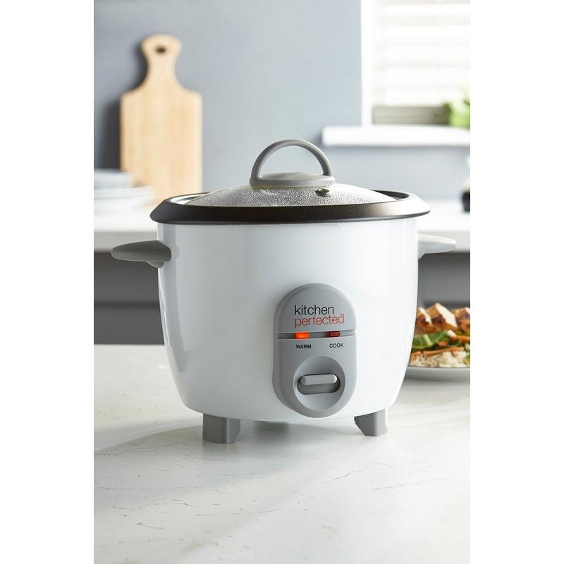 Kitchen Perfected Kitchen Perfected 0.8L Rice Cooker - Lloytron | White