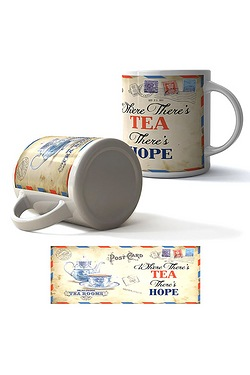 Where There Is Tea There's A Way Boxed Mug