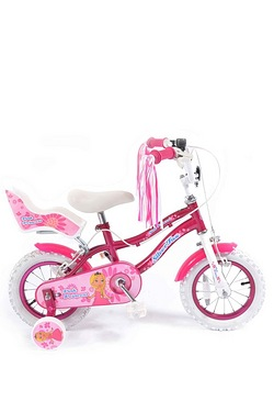 "Silverfox Pink Princess 12"" Bike"