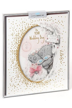 Me To You Wedding Boxed Card