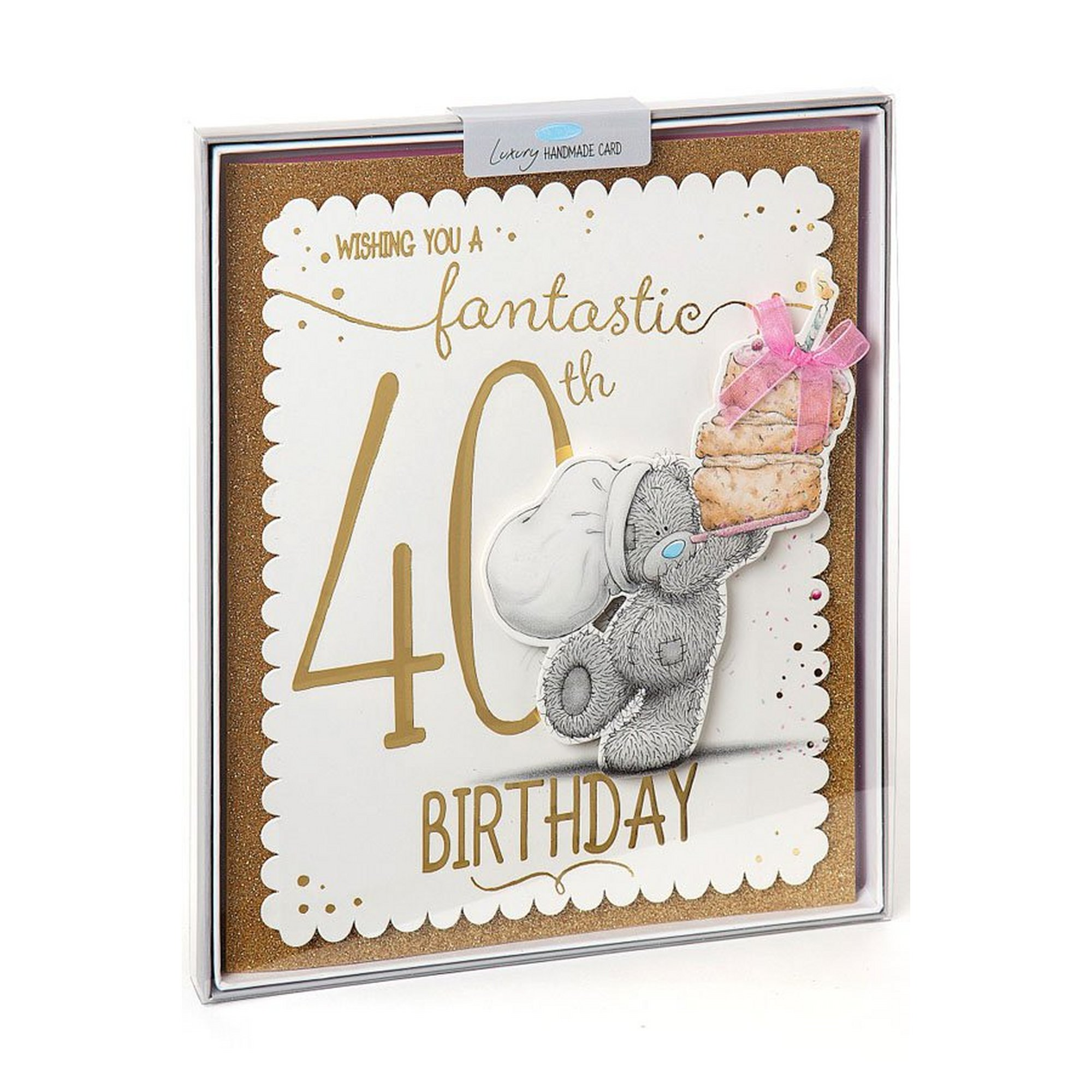 Image of Me To You 40th Birthday Boxed Card