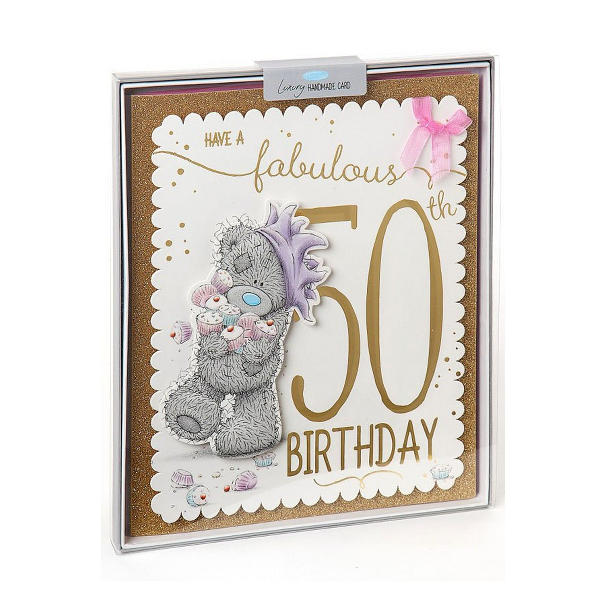 Image of Me To You 50th Birthday Boxed Card