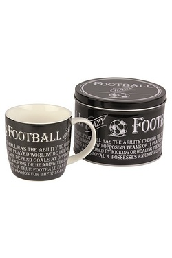 Mugs in Tins Gift Set - Football