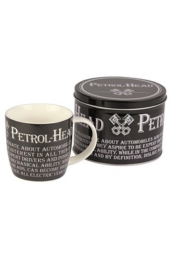 Mugs in Tins Gift Set - Petrol Head