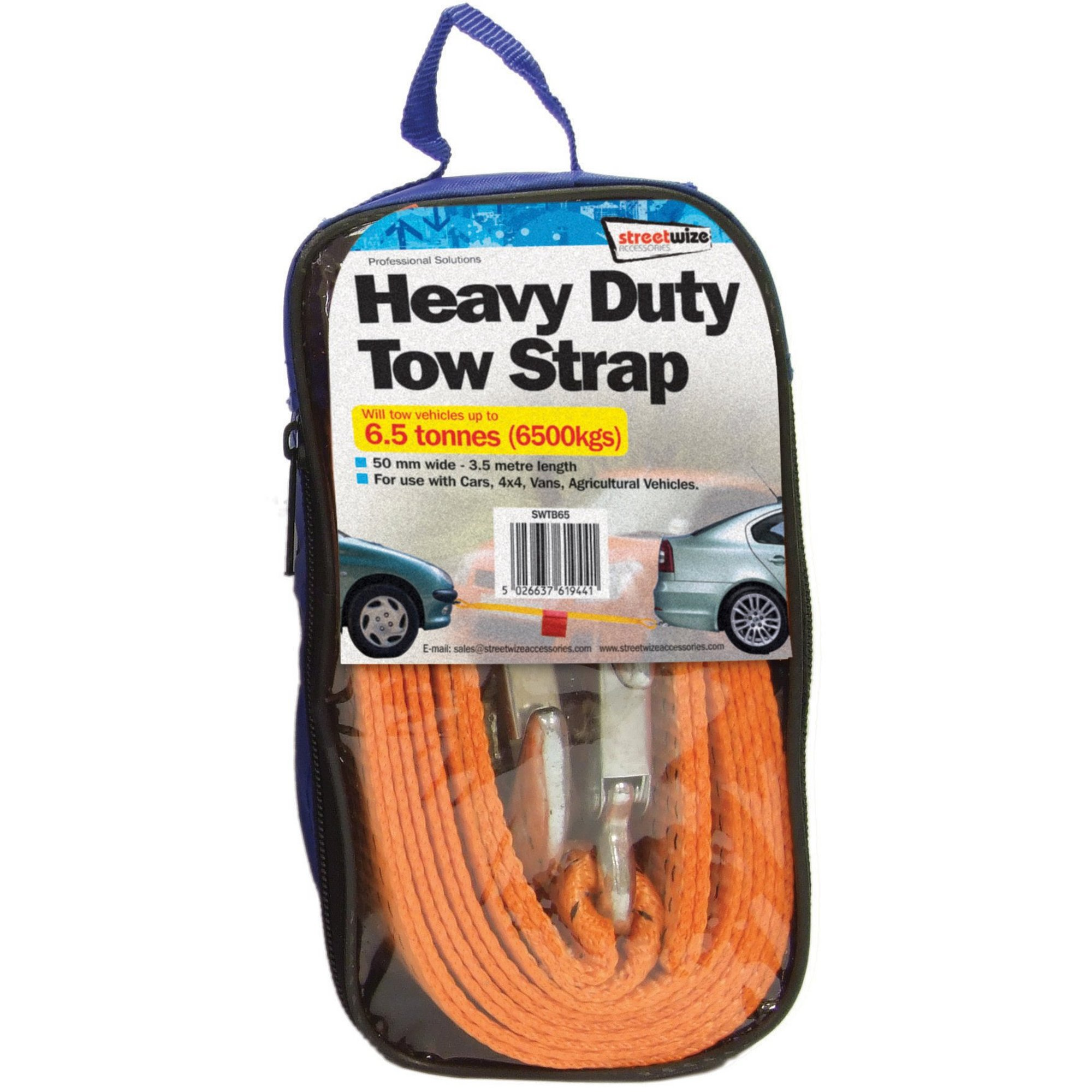 Image of 6.5 Tonne Towing Strap