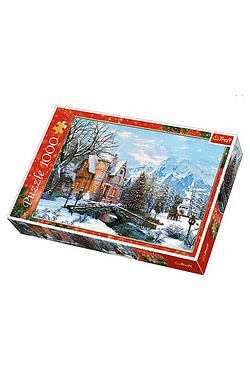 1000 Piece Winter Landscape