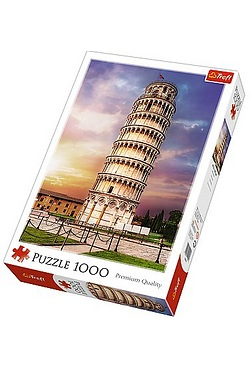 1000 Piece Leaning Tower of Pisa