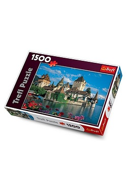 1500 Piece Oberhofen Castle Switzerland