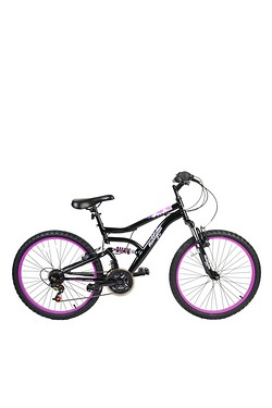 "Muddyfox 24"" Inca MFX Girls Dual Suspension Bike"