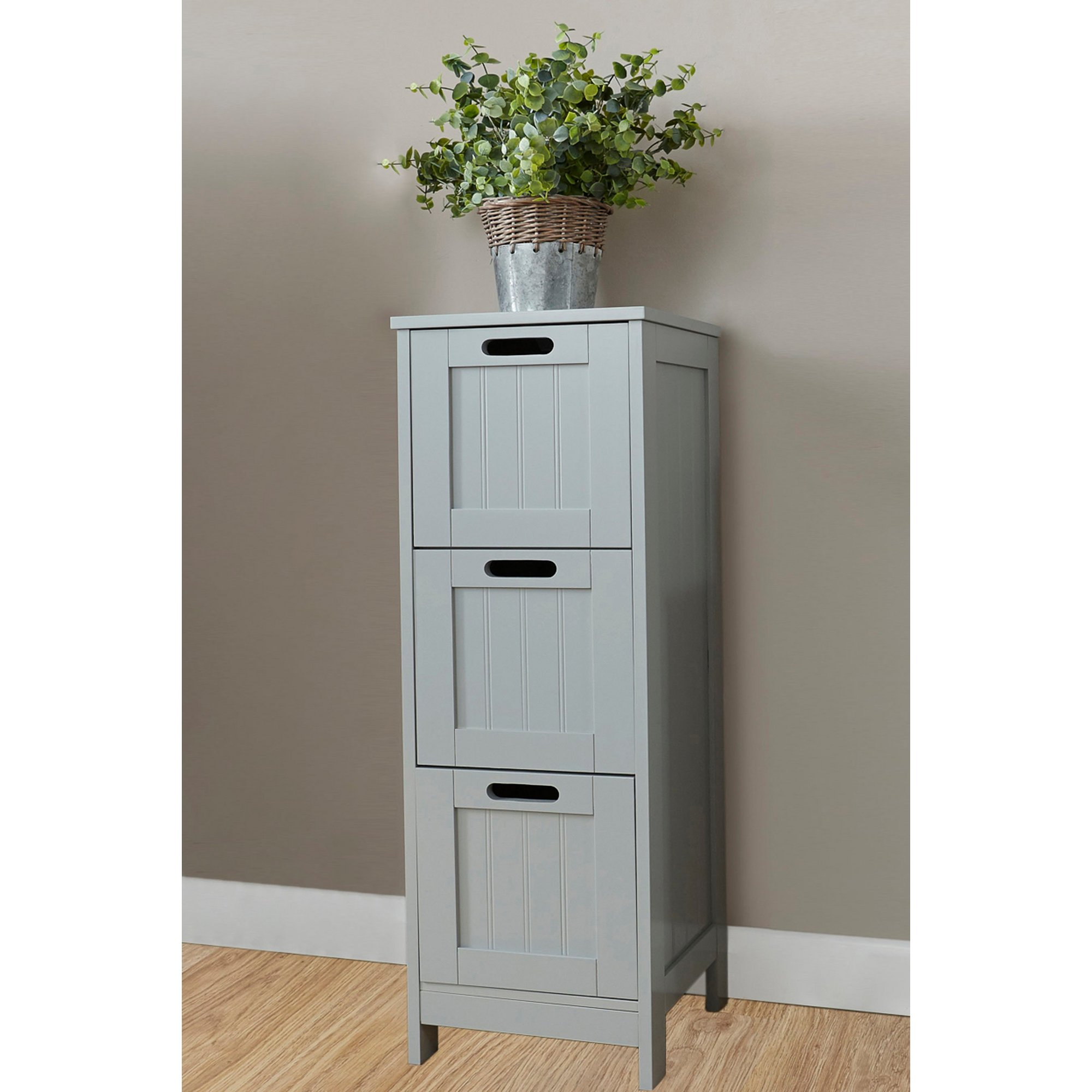 Image of Bathroom 3 Drawer Slim Chest