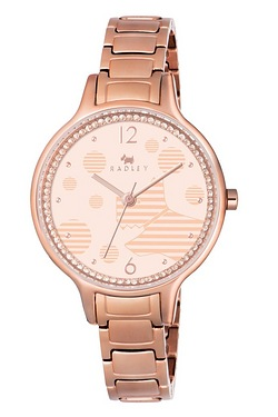 Radley Ormond Rose Gold Stainless Steel Bracelet Watch