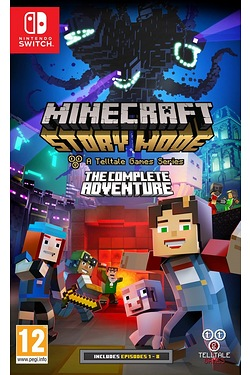 Nintendo Switch: Minecraft Story Mode Complete Adventure