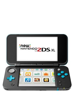 Nintendo New 2DS XL Black and Turquoise