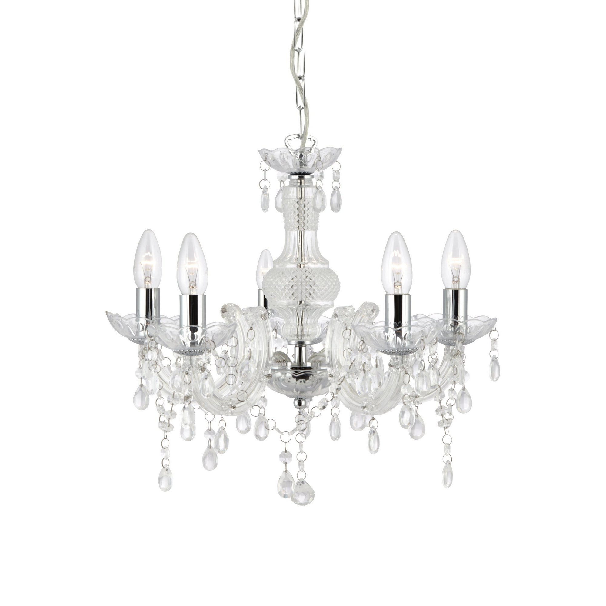 Image of 5 Light Marie Therese Chandelier