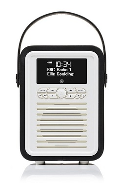 VQ Retro Mini Bluetooth Digital/FM Radio
