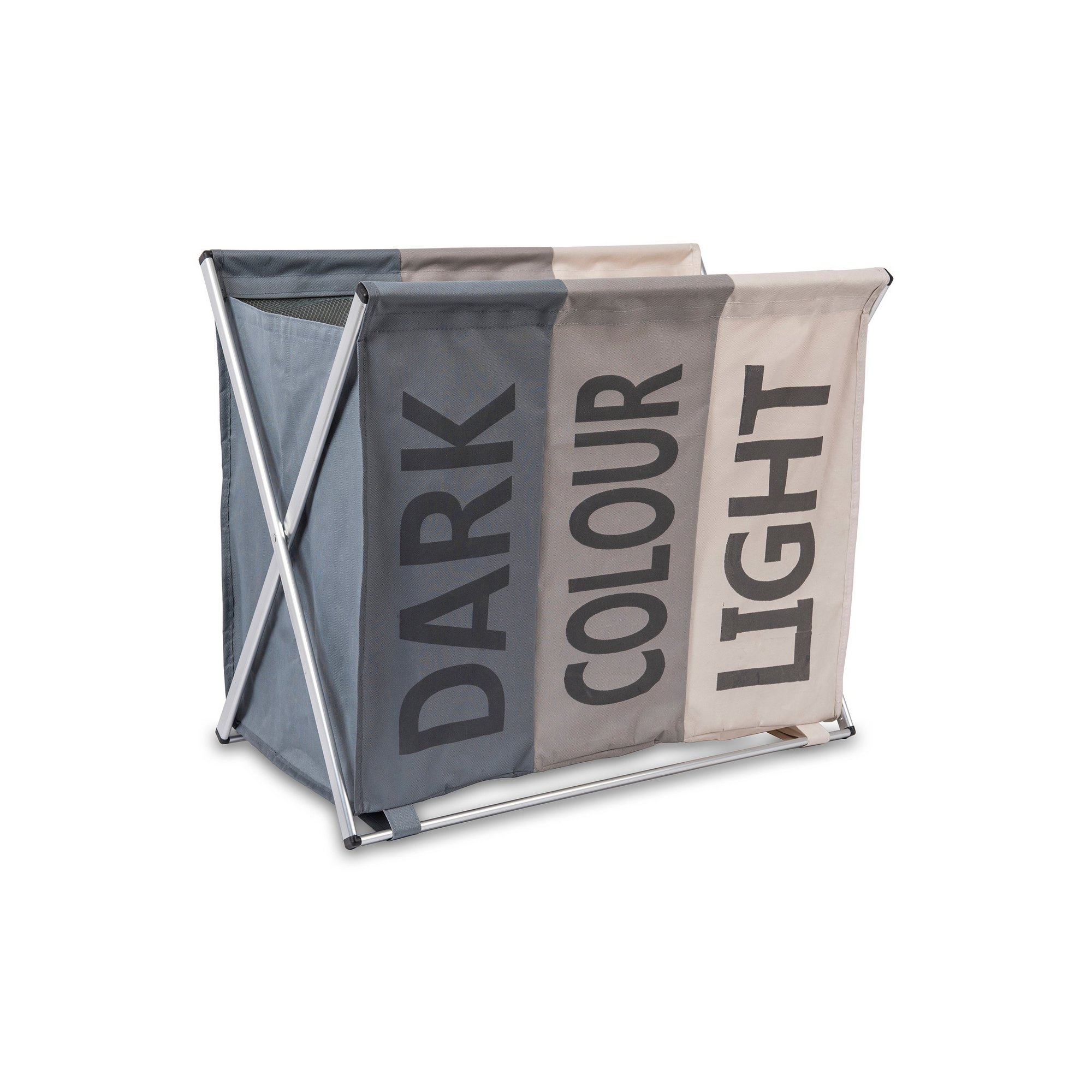 Image of 3 Compartment Laundry Hamper