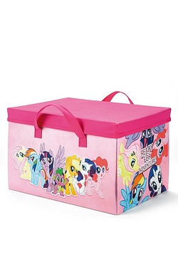 My Little Pony Storage Box and Playmat