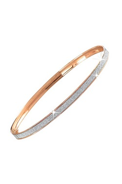 9ct Stardust 4mm Bangle