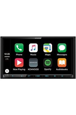 Kenwood iOS CarPlay and Android Car Stereo and AV Unit - DMX-7017DABS