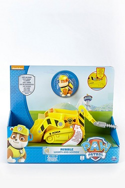 Paw Patrol Lights and Sound Vehicle Rubble