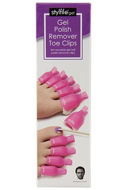 Stylfile Gel Nail Polish Remover Toe Clips
