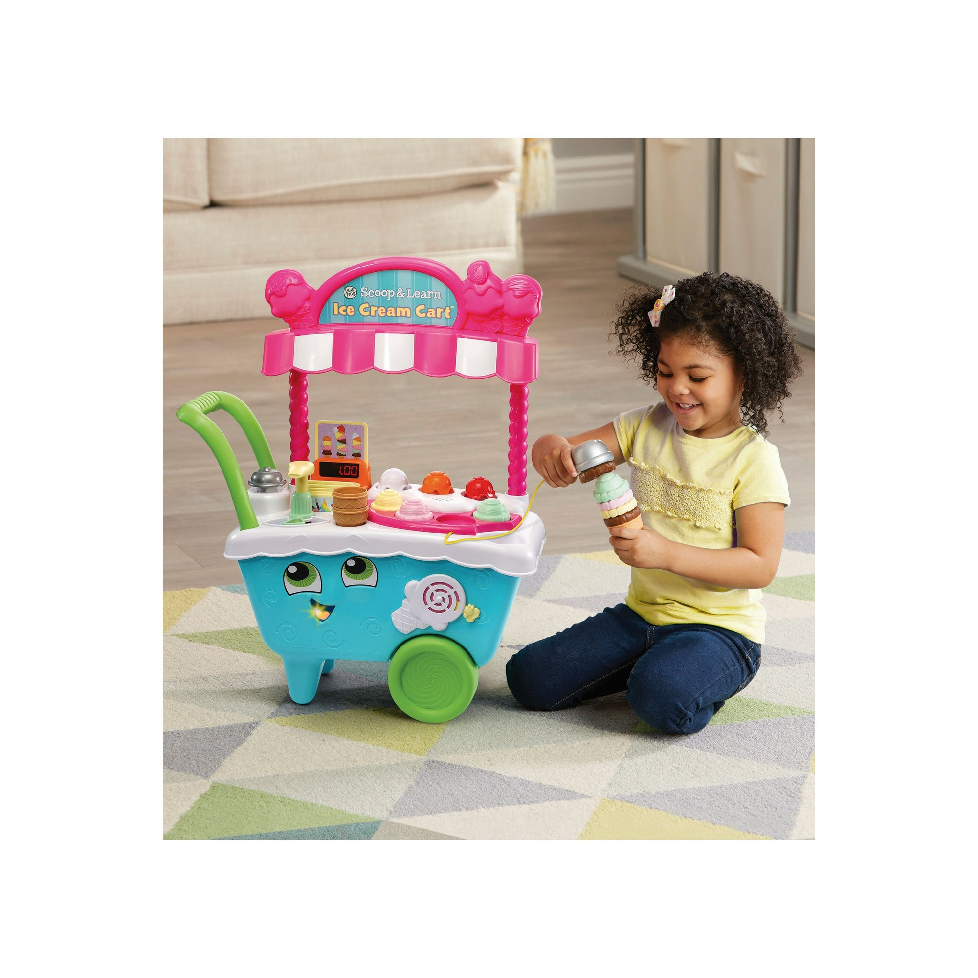Image of LeapFrog Scoop and Learn Ice Cream Cart