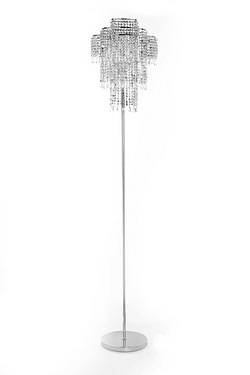 Silver Droplet Floor Lamp