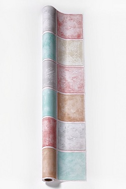 Tile On A Roll - Pastel Squares