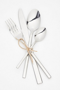 24-Piece Cutlery Set With 6 FREE Teaspoons