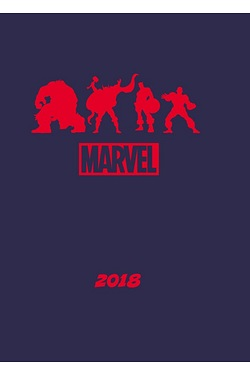 Marvel Comics A5 Diary 2018