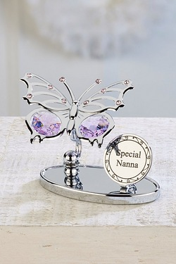 Crystocraft Butterfly Plaque - Nanna