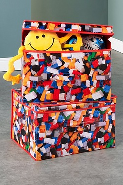 Foldable Storage Chest -  LEGO Bricks