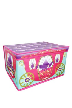 Foldable Storage Chest - Princess Carriage