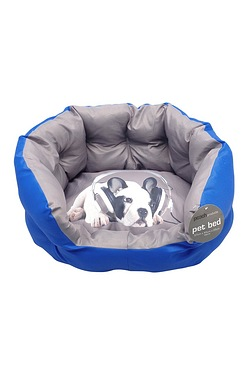 Pet Bed With Printed Cushion
