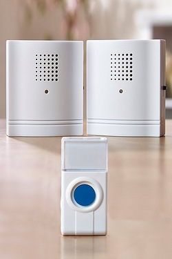 32 Melody Portable Doorbell With 2 Receivers