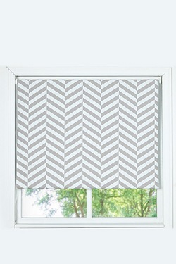 Chevron Blackout Roller Blind