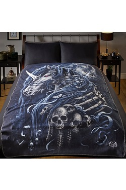 Dark Unicorn Blanket