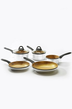 5-Piece Aluminium Pan Set